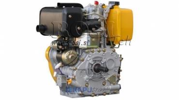 Dízel 418cc-7,83kW-10,65HP-3.600 U/min-E-KW25.4x88-elektromos indítás