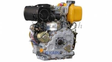 Dízel 306cc-4,5kW-3.600 U/min-E-KW25x63-elektromos indítás