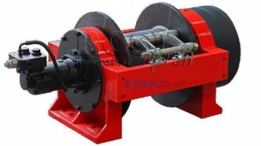 Hidraulikus hajtású csörlő DWHI 660 HD - 30000kg