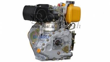 Dízel 306cc-4,5kW-3.600 U/min-H-KW25x63-kézi indítás