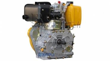 Dízel 418cc-7,83kW-10,65HP-3.600 U/min-H-KW25x88-kézi indítás