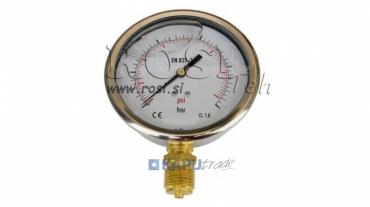 Nyomásmérő DN100 függőleges