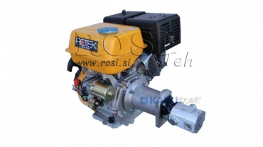 Benzinmotoros iker hidraulikamotor