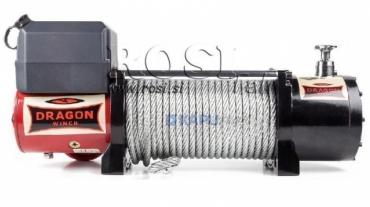 24V elektromos hajtású csörlő DWM 13000 HD- 5897 kg