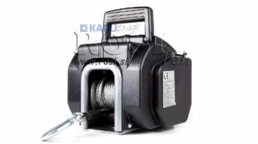 12V elektromos hajtású csörlő vízi járművekhez DWP 3500-1588 kg