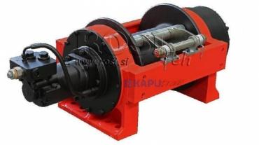 Hidraulikus hajtású csörlő DWHI 450 HD - 20000kg