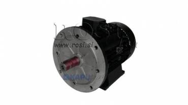 Villanymotor 2,2kW 1400 4P B3B5 3F 230/400/50