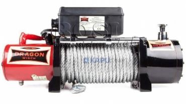24V elektromos hajtású csörlő DWM 12000 HD- 5443 kg