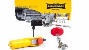 230V elektromos hajtású csörlő DWI 300/600 kg