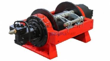 Hidraulikus hajtású csörlő DWHI 300 HD - 13605kg