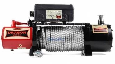 12V elektromos hajtású csörlő DWM 10000 HD- 4536 kg