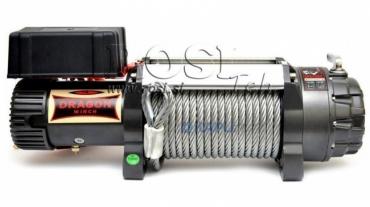24V elektromos hajtású csörlő DWH 15000 HD- 6803 kg