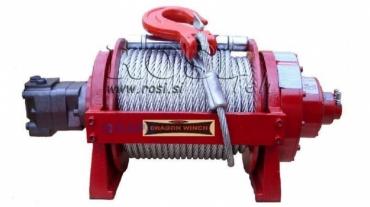 Hidraulikus hajtású csörlő DWHI 200 HD - 9072kg