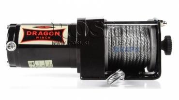 12V elektromos hajtású csörlő DWM 2500 ST- 1133 kg