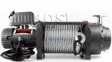 24V elektromos hajtású csörlő DWT 20000 HD- 9072 kg