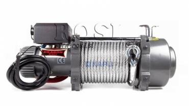 24V elektromos hajtású csörlő DWT 18000 HD- 8165 kg
