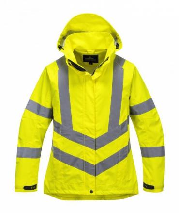 LW70 - Női jól láthatósági lélegző kabát