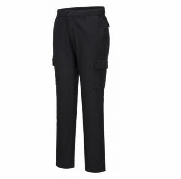 S231 - Stretch Slim Combat nadrág - fekete