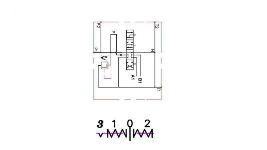 Kézi vezérlésű 3 állású 1xP40