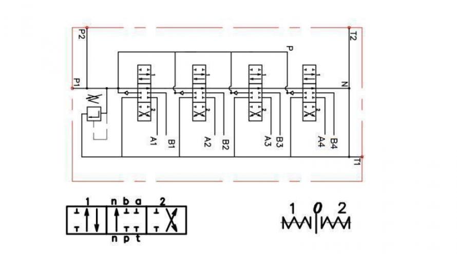 Kézi vezérlésű 4xP80