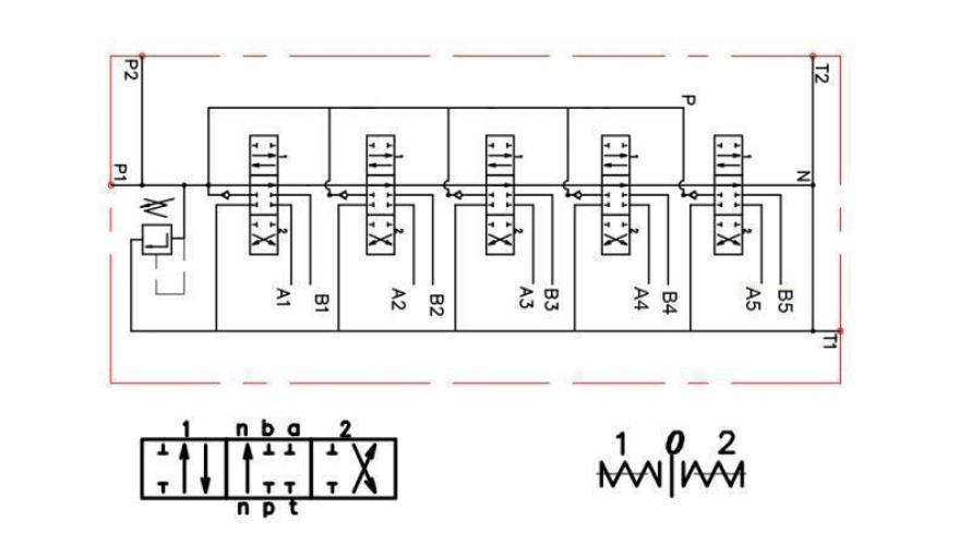 Kézi vezérlésű 5xP80