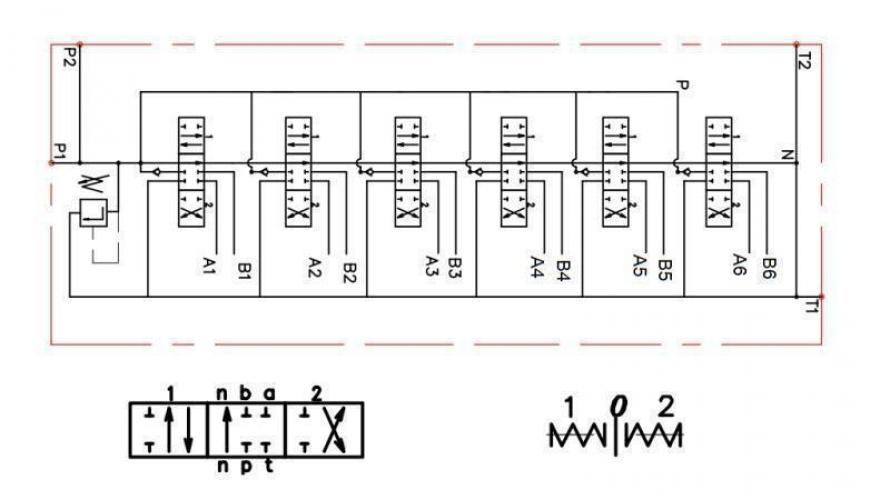 Kézi vezérlésű 6xP80