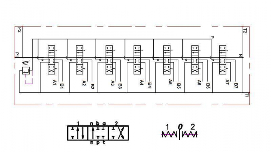 Kézi vezérlésű 7xP40