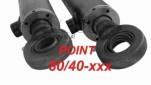 Gömbcsuklós hidraulika henger 80/40-xxx